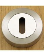 Standard Profile Escutcheon - Dual Finish - Satin & Polished Stainless Steel