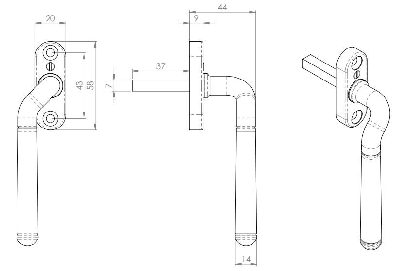 Cranked-Locking-Espagnolette-Handle-Window-Fastener-Diagram