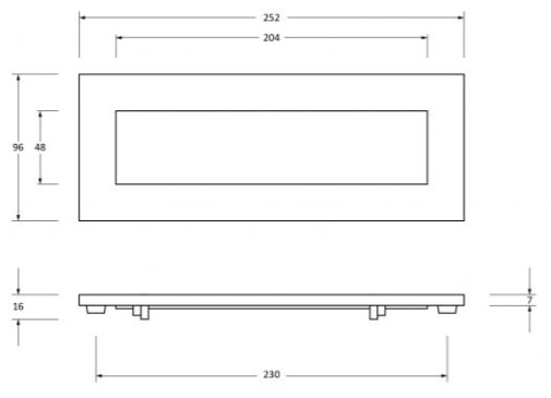 Period-Range-Letter-Plate-Small-252mm-x-96mm-Diagram