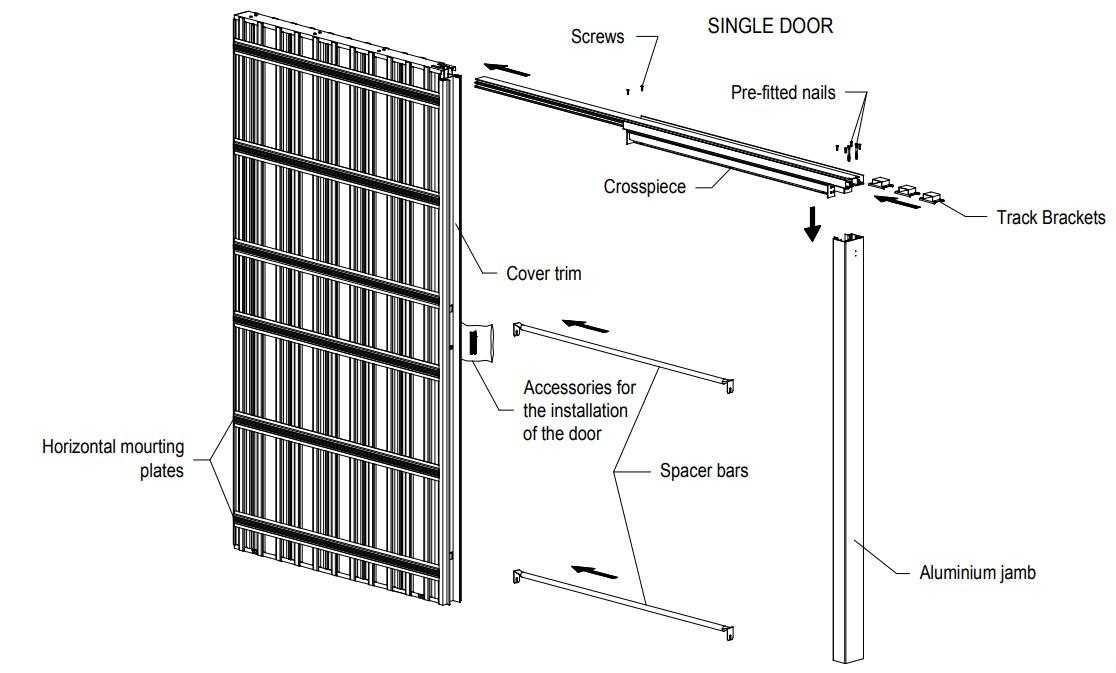 Scrigno-Single-Sliding-Pocket-Door-Kit-Fire-Rated-Kit-FD30-125mm-Finished-Wall-Diagram