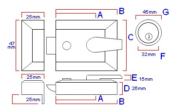 double-locking-surface-mounted-night-latch-diagram