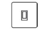 20amp Double Pole Switch Icon