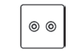 TV / Satellite Socket Icon