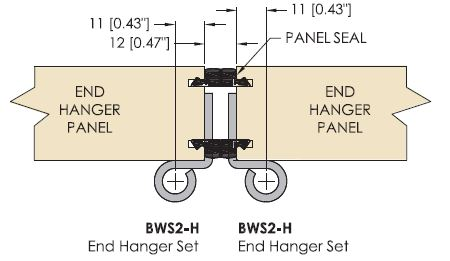 Brio 4s Meeting Panel Configuration - End Panel To End Panel