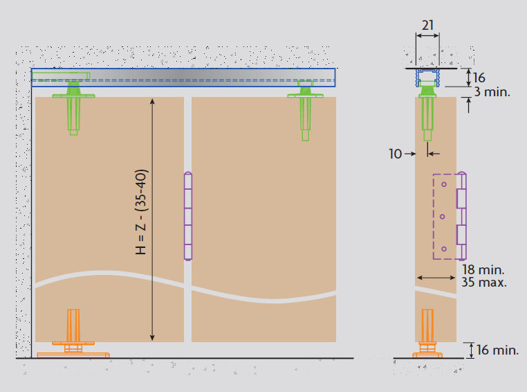 Bifold Door Gear System For Bi Folding Wardrobe Amp Cupboard