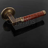 leather-wrapped-bespoke-lever-handle